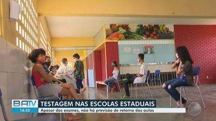 Segunda fase testes de Covid-19 acontece nas escolas do bairro de Cajazeiras