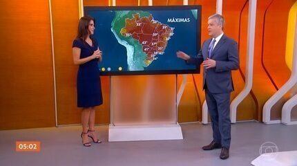 Temperatura pode chegar aos 43 graus em Cuiabá nesta quinta-feira
