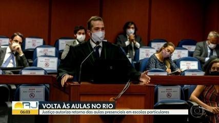 Escolas particulares podem funcionar no Rio