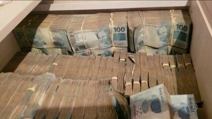 Polícia encontra R$ 8 milhões em armário de sócio de empresa investigada em operação