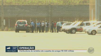 Distribuidoras de remédios são suspeitas de sonegar R$500 milhões na região de Ribeirão