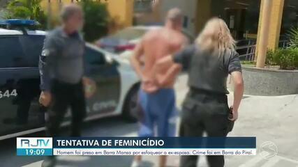 Preso em Barra Mansa suspeito de tentar assassinar a ex-esposa com 30 facadas