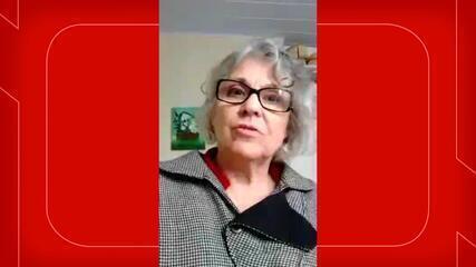 Professora de SC fala das dificuldades enfrentadas para ensinar durante a pandemia