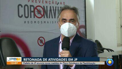 Prefeitura de João Pessoa anuncia nova etapa de flexibilização