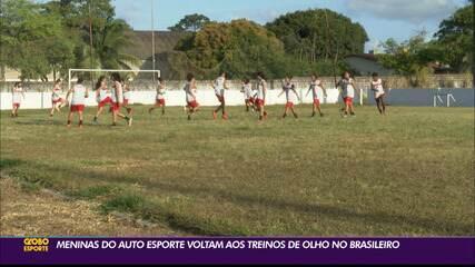 Auto Esporte volta à ativa para a retomada da Série A2 do Brasileiro de Futebol Feminino