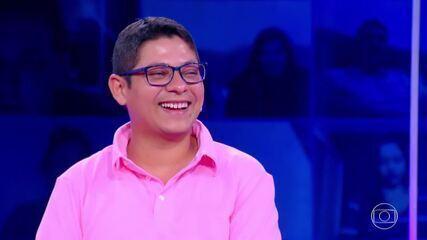 Sérgio Ferreira inicia desafio do 'Quem Quer Ser Um Milionário'