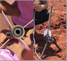 Meninas desenvolvem minifoguete para reflorestar áreas queimadas, em Palotina