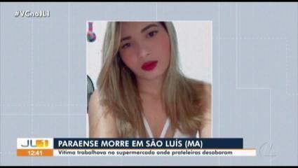 Paraense morre em acidente que derrubou prateleiras em supermercado em São Luis (MA)
