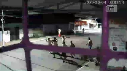 Vídeo mostra reféns sendo rendidos antes de assalto a banco no Piauí