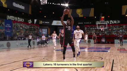 Melhores momentos de Miami Heat 115 x 104 Los Angeles Lakers pela NBA