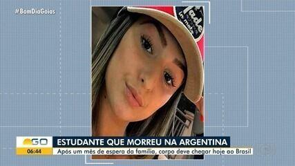 Corpo de estudante que morreu na Argentina deve ser trazido ao Brasil