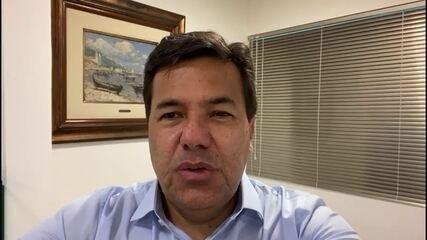 Mendonça Filho (DEM) fala sobre transporte público no Recife