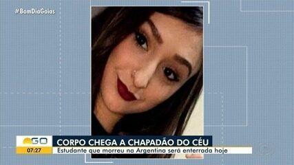 Corpo de jovem morta ao cair em poço de elevador na Argentina deve ser enterrado em Goiás