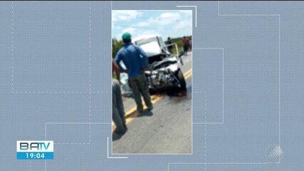 Jovem morre em acidente de trânsito na BR-324, perto de Riachão do Jacuípe