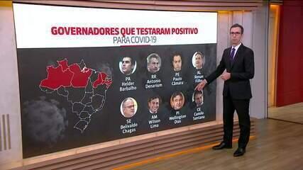 Governador do Ceará, Camilo Santana, está com Covid