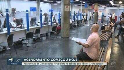Poupatempo de Campinas faz força-tarefa para liberar carteiras de motorista paradas