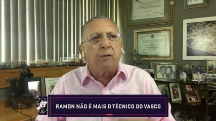"""Galvão opina sobre demissão de Ramon, do Vasco: """"Decisão absurda"""""""