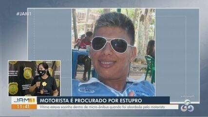 Em Manaus, motorista é procurado por suspeita de estupro