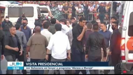 Jair Bolsonaro visita Breves, no Marajó