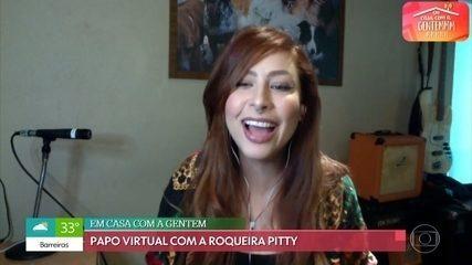 Pitty relembra momento em que foi apresentada por Rita Lee