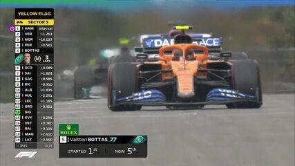 Valteri Bottas relata problemas à equipe