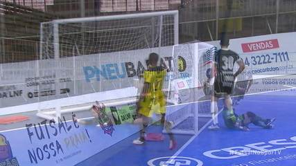 Os gols de Praia Clube 0 x 3 Corinthians pela LNF 2020