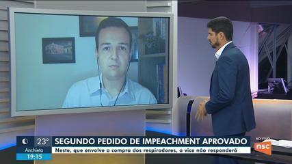 Alesc aprova 2º pedido de impeachment do governador e arquiva denúncia contra vice