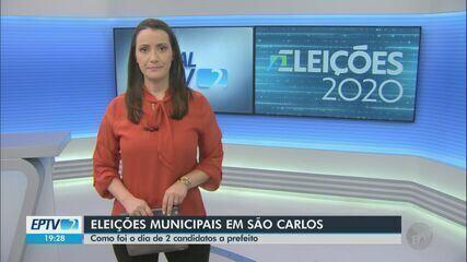 Candidatos a prefeito de São Carlos visitam indústrias e gravam programa eleitoral