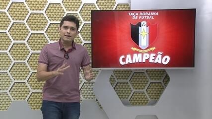 Caxiense é campeão inédito e invicto da Taça Roraima de Futsal