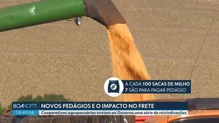 Cooperativas agropecuárias enviam ao Governo reivindicações sobre novos pedágios