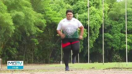 Atleta de Ipatinga treina para disputar competição mundial no Japão em 2021