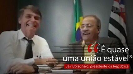 Vídeo mostra Bolsonaro elogiando senador Chico Rodrigues