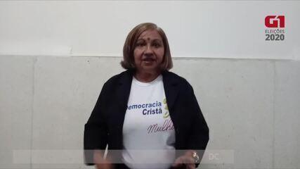 CANDIDATA JAIDY OLIVEIRA DE SOUSA FALA SOBRE TRANSPORTE