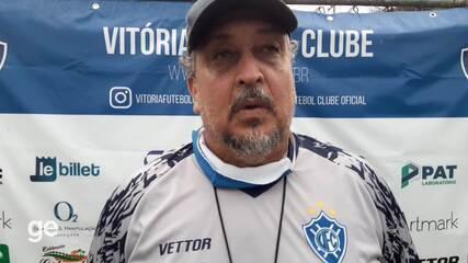 Charles de Almeida pontua aspectos a se melhorar no time do Vitória-ES