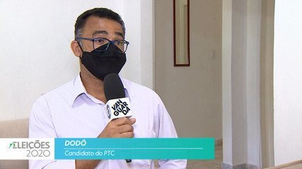 Candidato Dodô (PTC) fala sobre saúde para cidade de Taubaté