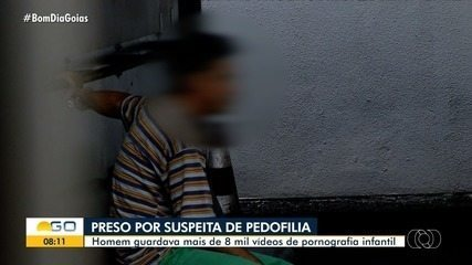 Preso suspeito de ter vídeos de pornografia infantil em Rio Verde