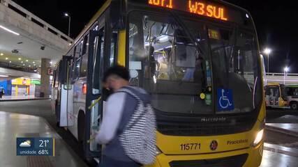 GDF reajusta a tarifa técnica, verba repassada para as empresas de ônibus