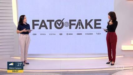 Fato ou Fake comenta, nesta sexta (16), declaração da candidata a prefeito Bruno Engler
