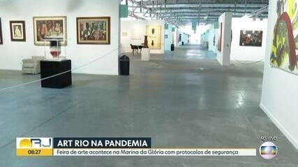 Art Rio começa com protocolos de segurança