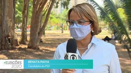 Candidata Renata Paiva (PSD) fala sobre empregos para cidade de São José