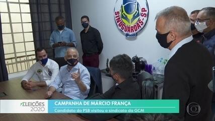 Márcio França se reuniu com o sindicato da GCM
