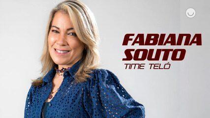 Conheça a participante Fabiana Souto, do Time Teló