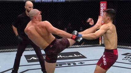 Melhores Momentos de Brian Ortega x Chan Sung Jung no UFC Ortega x Zumbi