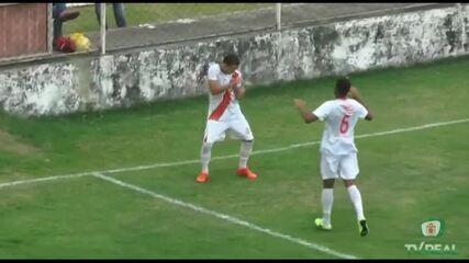 Os gols de Real Noroeste 4 x 1 Goianésia, pela Série D do Campeonato Brasileiro 2020