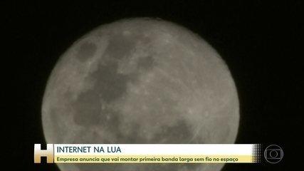 Nasa anuncia que vai montar rede de internet 4G na Lua
