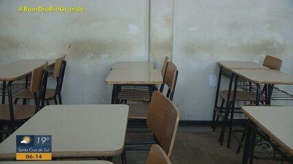 Escolas estaduais do RS afirmam não estar preparadas para retorno presencial