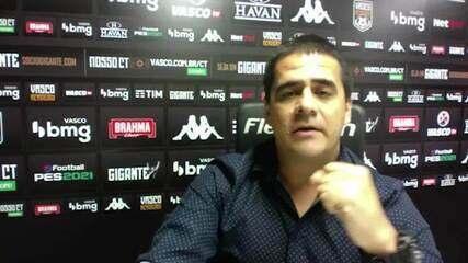 Raphael Milenas, diretor, explica planejamento do futebol feminino do Vasco