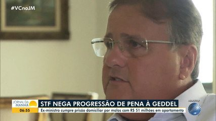 Segunda turma do STF nega pedido de progressão de regime para Geddel Vieira Lima
