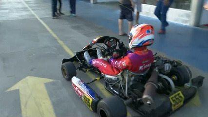 Bia Martins, do kart, vai fazer testes na Fórmula 1.600, em Interlagos