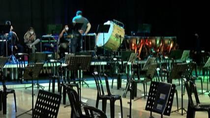 Orquestra Sinfônica Jovem de Mogi faz apresentação na internet